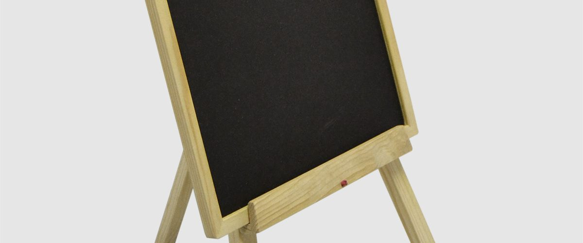 Blackboard and Easel Small