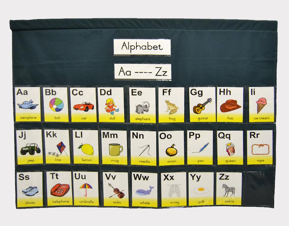 Alphabet Chart Bag