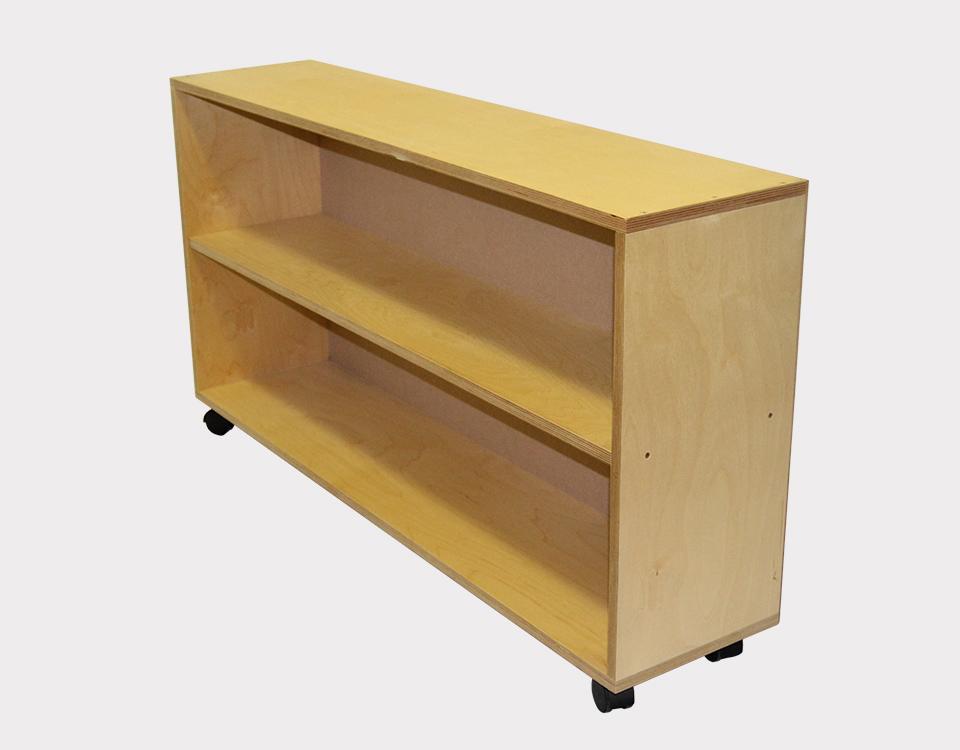 Montessori Bookshelf Clear