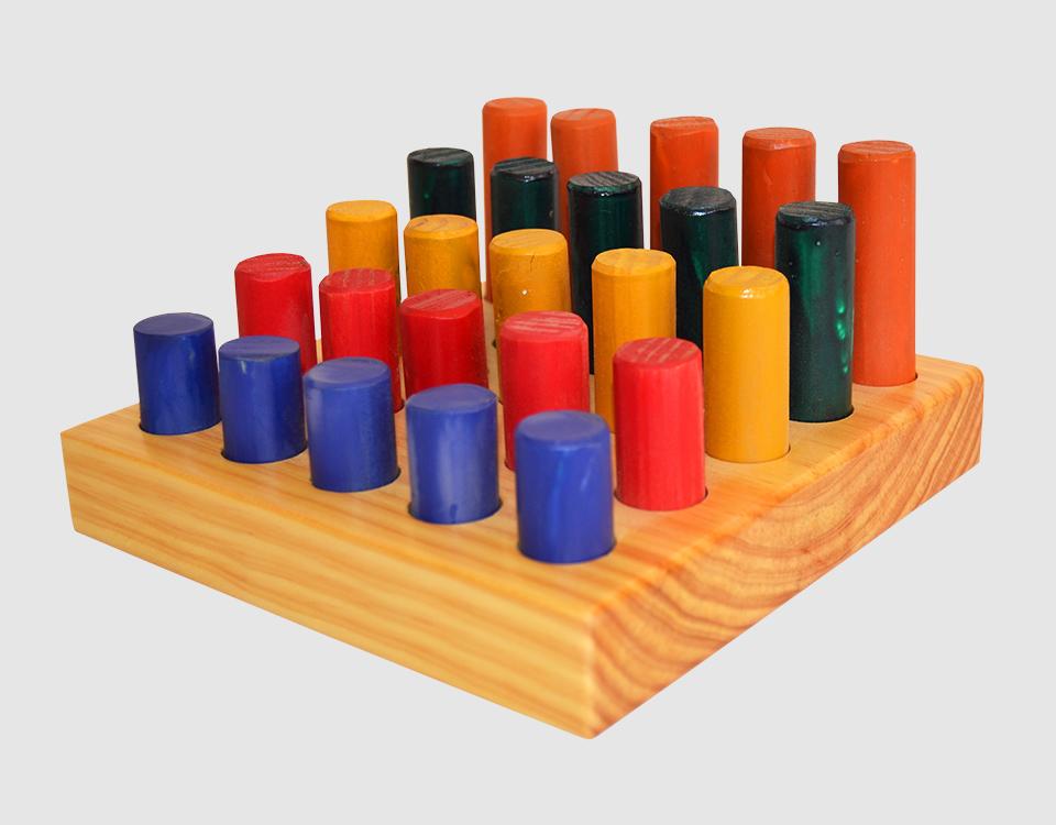 Peg Board - 25 Piece