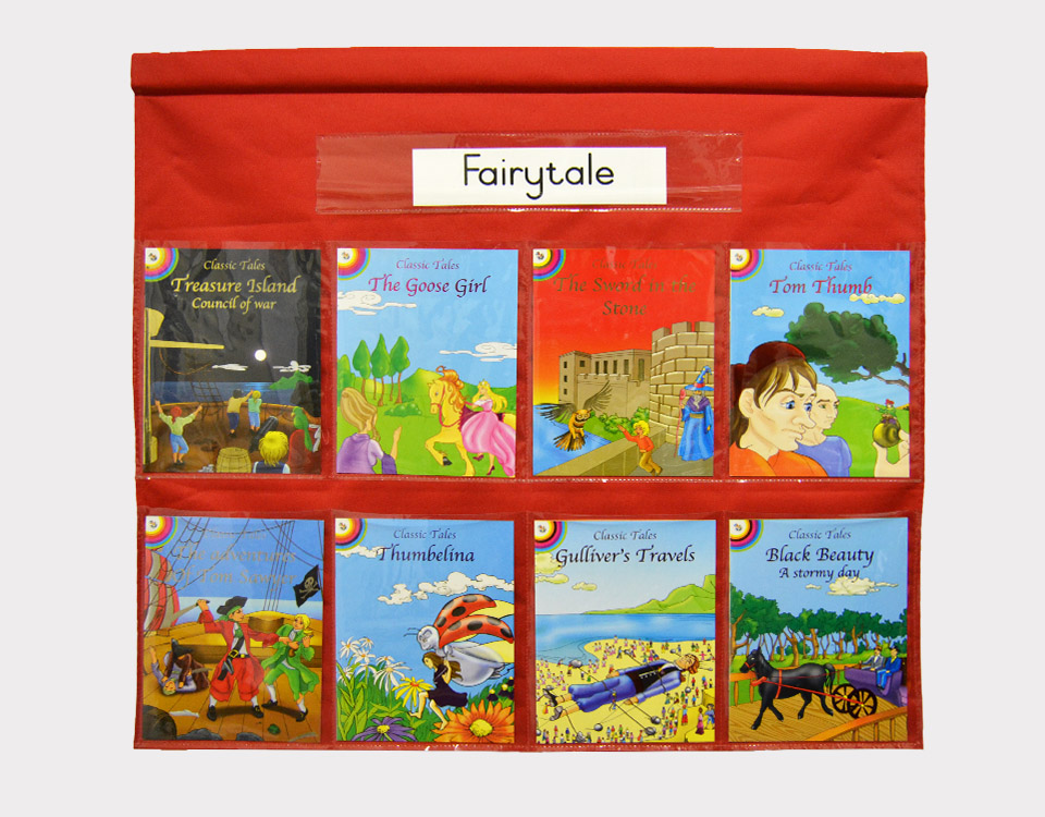 Story Book Chart Bag with 8 Story Books